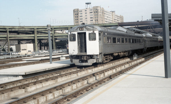 RDCs at North Station 1967 08 29