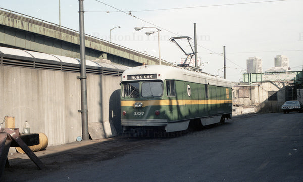 MBTA Work Car #3327 1967 08 29 B
