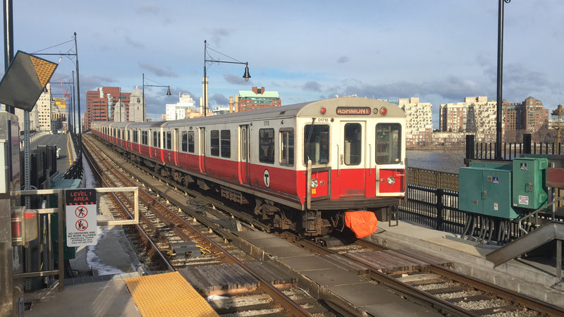Train of MBTA Red Line 01700-series Cars, March 12, 2019