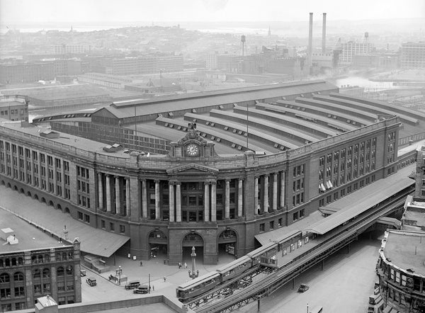 South Station from Above 1929