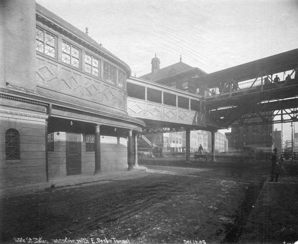 Atlantic Avenue and State Street Stations 1905