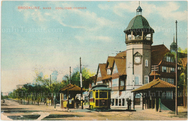 Coolidge Corner Streetcar Station