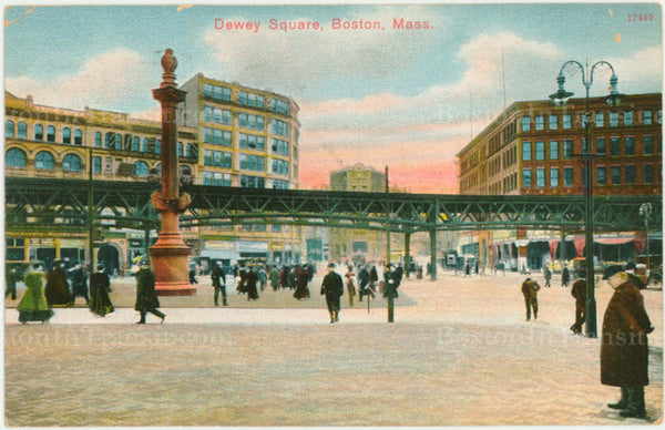 Dewey Square, Boston, Massachusetts