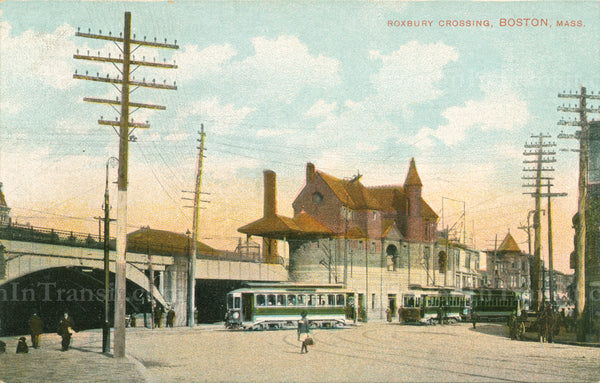 Roxbury Crossing Station (Railroad) 01
