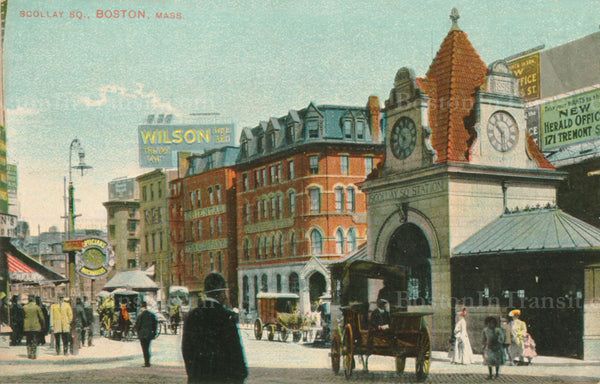 Scollay Square Station Head House 04