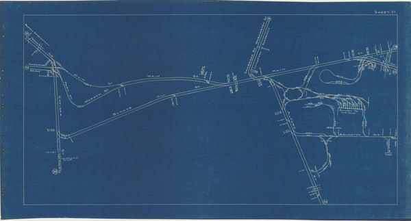 Boston Elevated Railway Co. Track Plans 1936 Plate 21: Charlestown