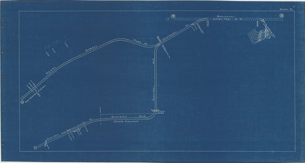 Boston Elevated Railway Co. Track Plans 1936 Plate 22: Chelsea