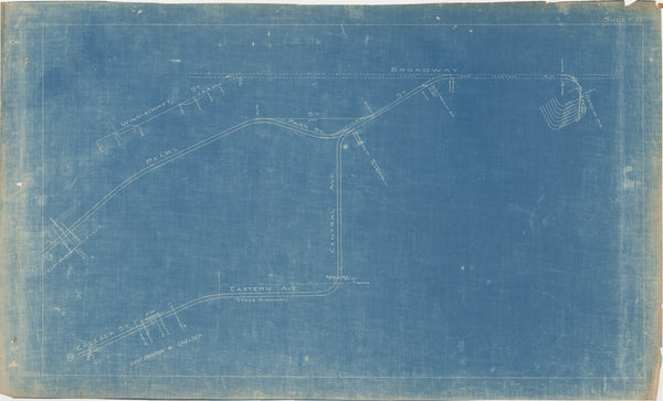 Boston Elevated Railway Co. Track Plans 1921 Plate 22: Chelsea