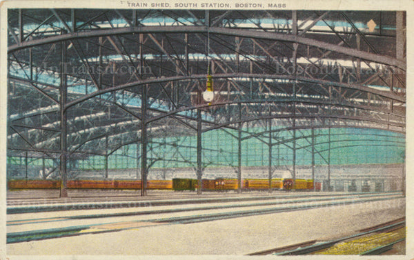 South Station Train Shed