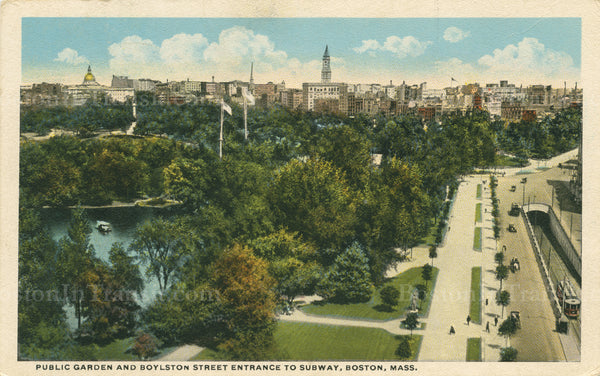 Boylston Street Incline with Public Garden 05