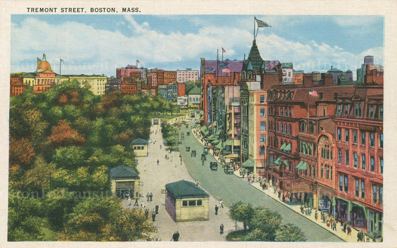 Boylston Street Station Head Houses and Tremont Street 06