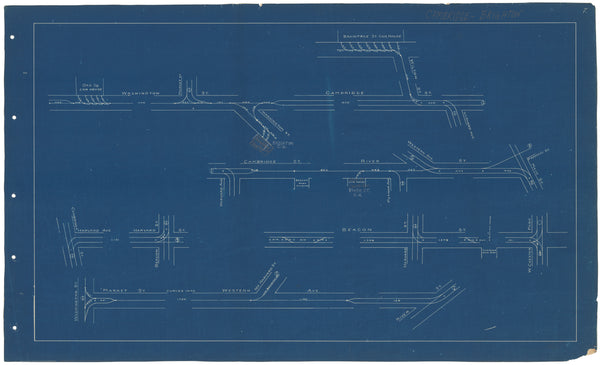West End Street Railway Co. Track Plans 1892 Plate 07