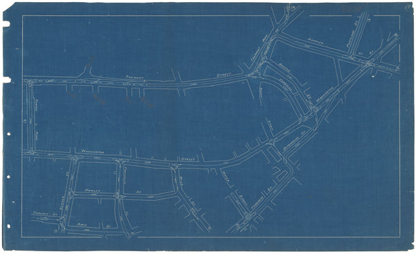 West End Street Railway Co. Track Plans 1892 Plate 17