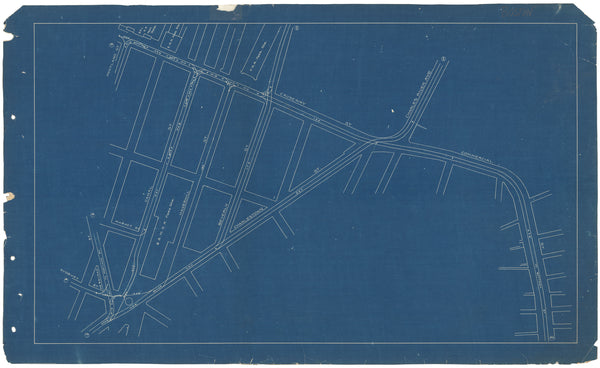 West End Street Railway Co. Track Plans 1892 Plate 19