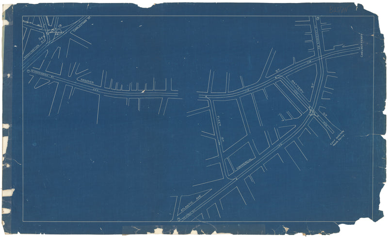 West End Street Railway Co. Track Plans 1892 Plate 20