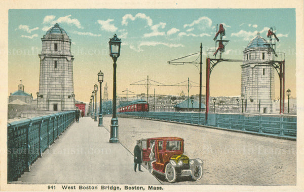 Longfellow Bridge / West Boston Bridge 01