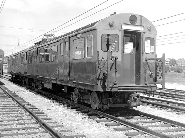 East Boston Tunnel Type 3 Cars, August 4, 1951