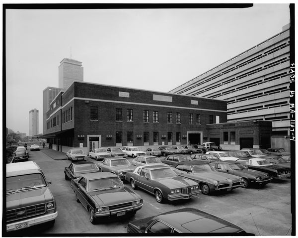 Back Bay Station Parking Lot, Boston, Massachusetts, October 1979
