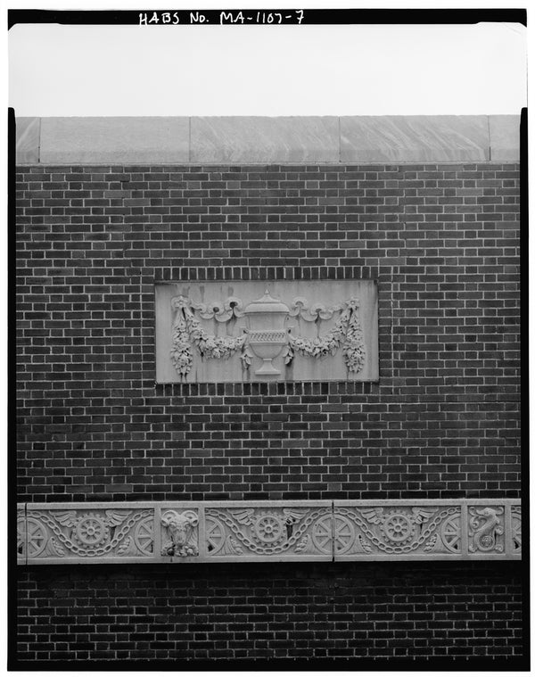 Back Bay Station Stonework, Boston, Massachusetts, October 1979