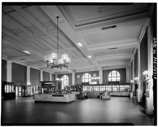 Back Bay Station Lobby, Boston, Massachusetts, October 1979