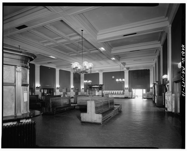 Back Bay Station Waiting Area, Boston, Massachusetts, October 1979