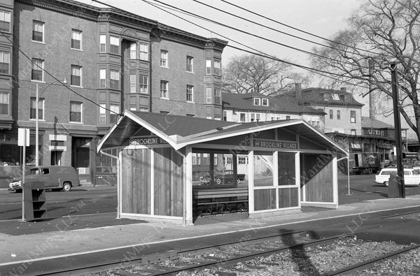 Brookline Village Station, November 12, 1959
