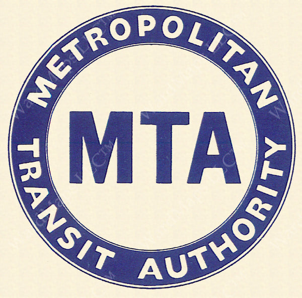 Metropolitan Transit Authority Logo 1947