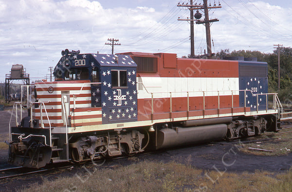 Boston & Maine Locomotive #200, 1975