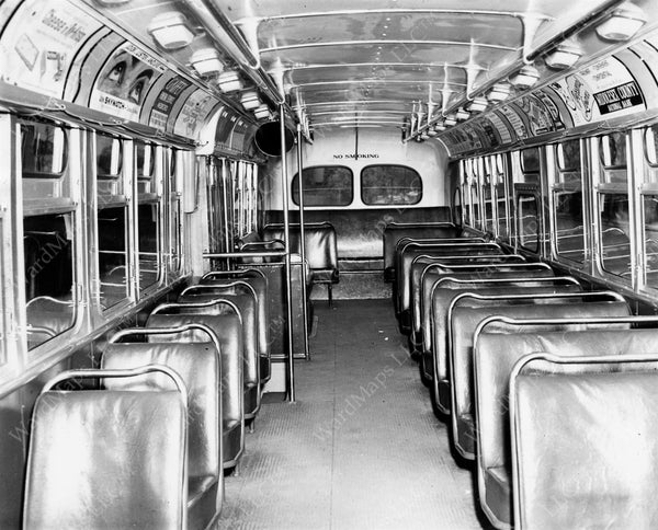MTA Bus #2138 Interior, November 19, 1955