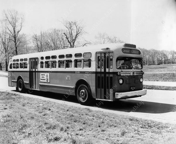 MTA Bus #2148, May 21, 1956