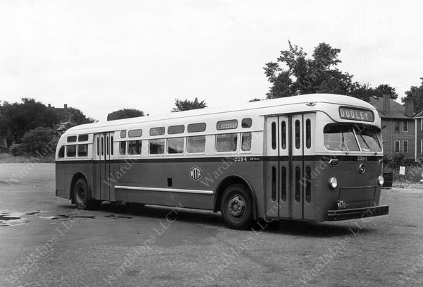 MTA Bus #2294, July 12, 1957