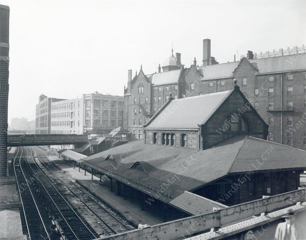Trinity Place Station, Boston, Massachusetts Circa 1950