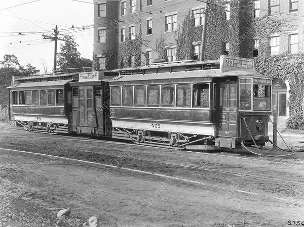 Boston Elevated Railway Co. Articulated Car 1912