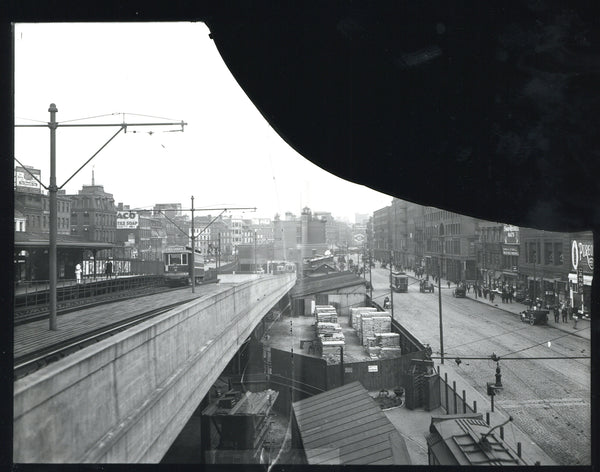 Haymarket Incline and Canal Street Circa 1920