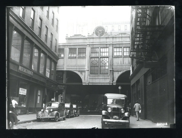 North Station West on the East Cambridge Extension Circa 1930s