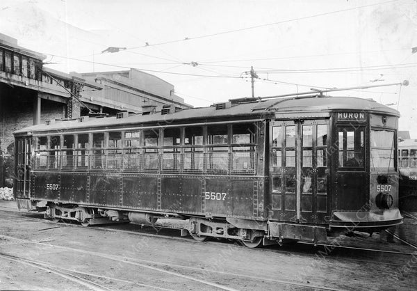 Boston Elevated Railway Co. Type 5 Streetcar #5507, November 23, 1922