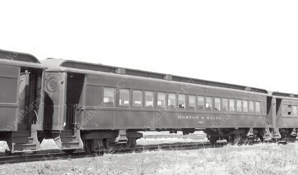 Boston & Maine Railroad Coach #840 Circa 1940
