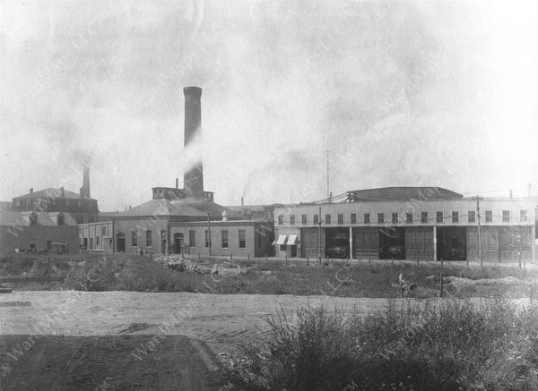 Allston Power Station and Car House Circa 1890