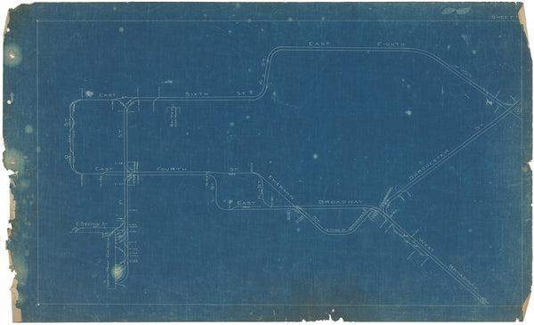 Boston Elevated Railway Co. Track Plans 1908 Plate 01
