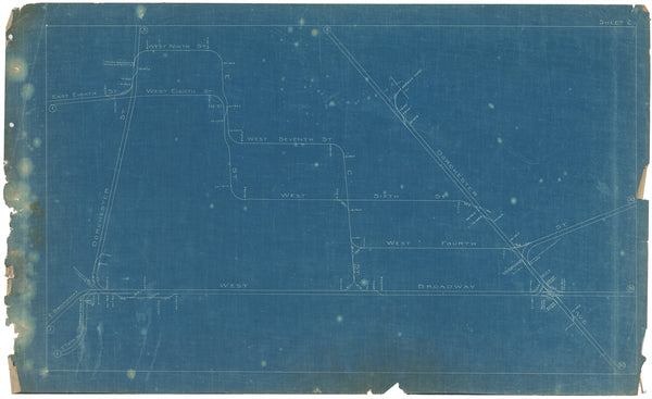 Boston Elevated Railway Co. Track Plans 1908 Plate 02