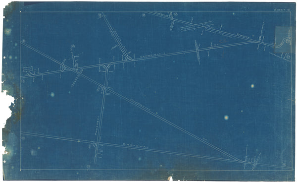 Boston Elevated Railway Co. Track Plans 1908 Plate 16