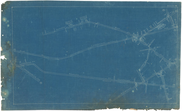Boston Elevated Railway Co. Track Plans 1908 Plate 18