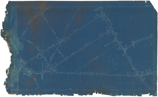 Boston Elevated Railway Co. Track Plans 1908 Plate 33
