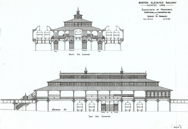 Designing Dudley Street Station, October 25, 1898
