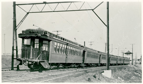 BRB&L Electric Train 1929
