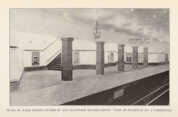 BTD Annual Report 1925 Plate 10: Park Street Under Stair #5