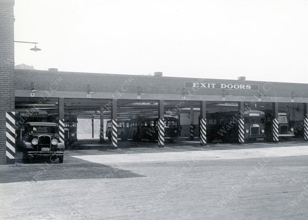 Bartlett Street Bus Garage, Roxbury, Massachusetts 1936
