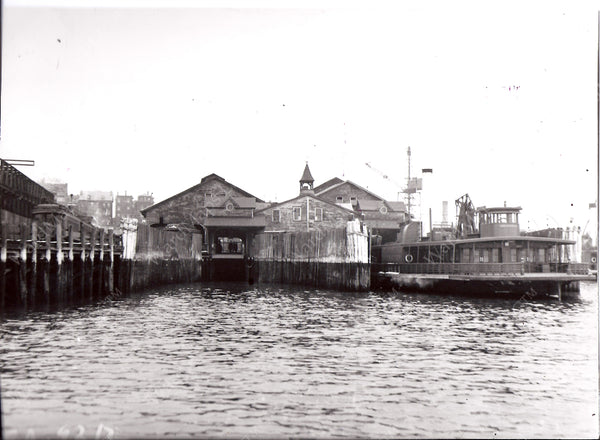 BRB&L East Boston Ferry Slips Circa Late 1930s