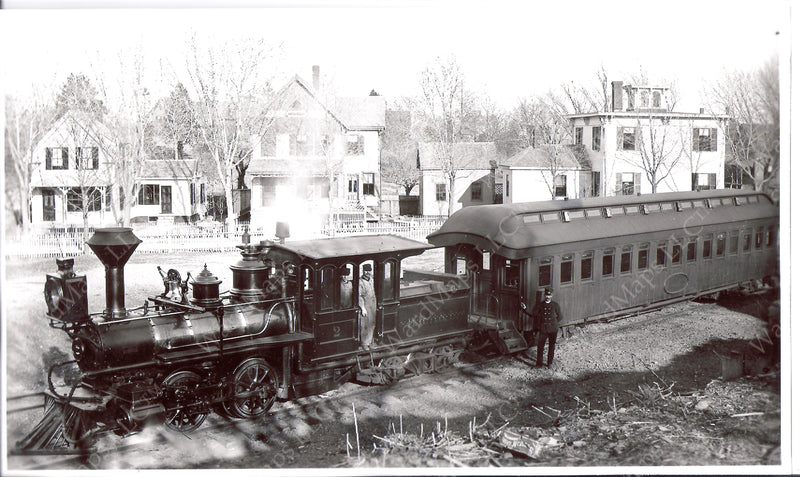 BRB&L Locomotive #2 with Coach 1875