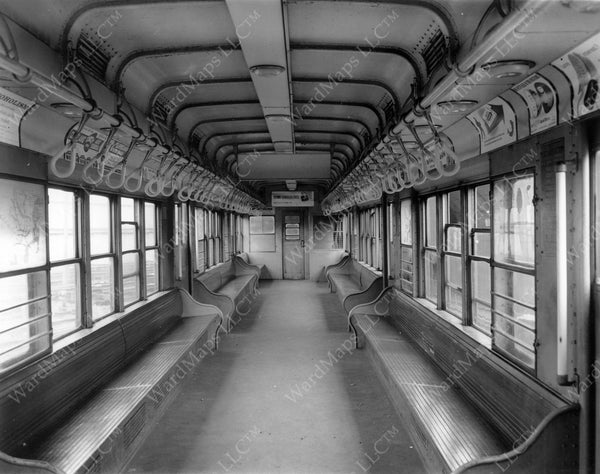 Cambridge-Dorchester Rapid Transit Car #0670, July 25, 1961